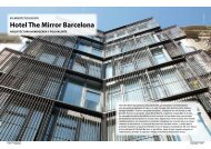 Hotel The Mirror Barcelona - Promateriales