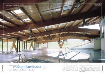 Estructura de madera laminada - Promateriales
