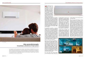 Aire acondicionado Versatilidad y eficiencia al mejor ... - Promateriales