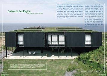 Cubierta Ecológica - Promateriales
