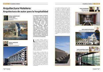 ESPECIAL ARQUITECTURA HOTELERA ... - Promateriales