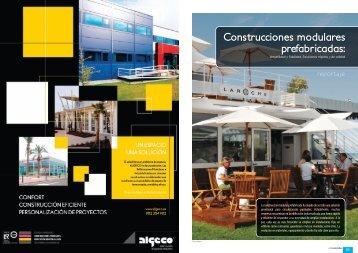 Construcciones modulares prefabricadas: - Promateriales
