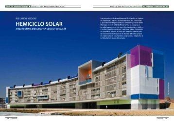 Hemiciclo Solar. Ruiz-Larrea & Asociados - Promateriales