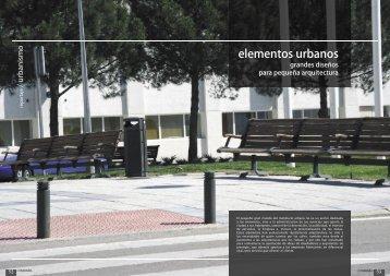 elementos urbanos - Promateriales