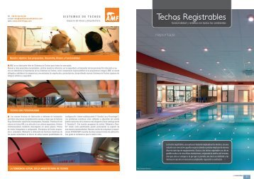 Techos Registrables - Promateriales