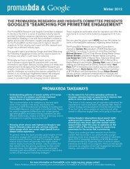 "google's ""searching for primetime engagement"" - PromaxBDA"