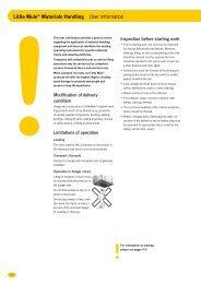 Little Mule® Materials Handling User information - Yale Industrial ...