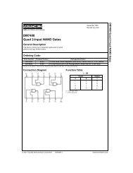 DM7400 Quad 2-Input NAND Gates