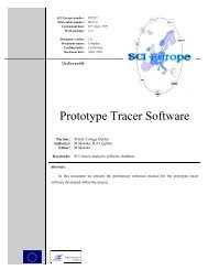 Prototype Tracer Software - Bad Request - Trinity College Dublin
