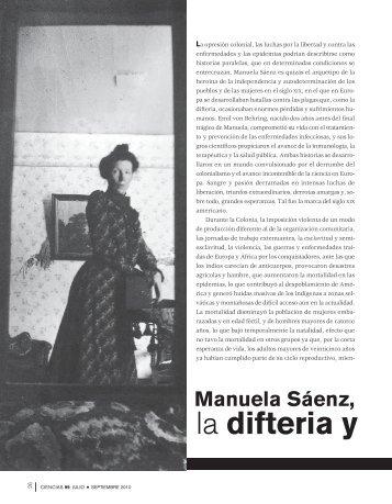 Manuela Sáenz, la difteria y Emil von Behring - Página del Alumno