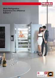 Miele Refrigeration Experience the difference Edition 5 - The Green ...