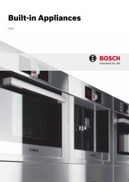 Built-in Appliances - Euro Appliances