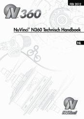 NuVinci® N360 Technisch Handboek - Fallbrook Technologies Inc.