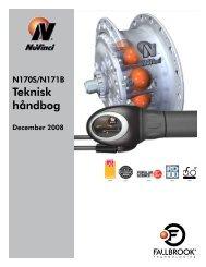 Teknisk håndbog - December 2008 - Fallbrook Technologies Inc.