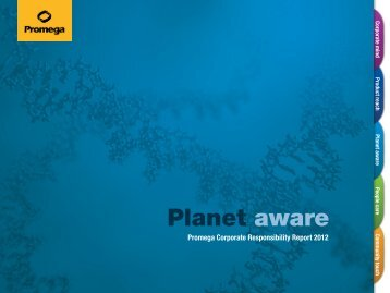 Download Planet Aware » PDF - Promega