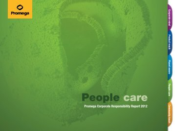 Download People Care » PDF - Promega