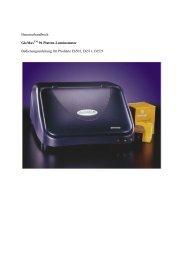 Benutzerhandbuch GloMax 96 Platten-Luminometer ... - Promega
