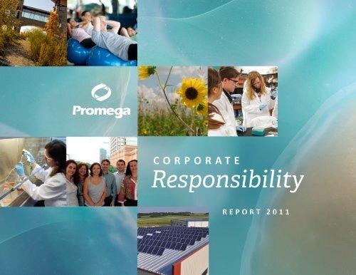 Download Full 2011 Report » PDF - Promega