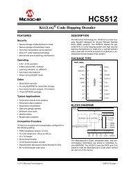 HCS512- KeeLoQ Hopping Decoder - Microchip