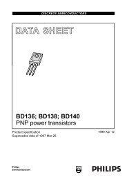 PNP power transistors