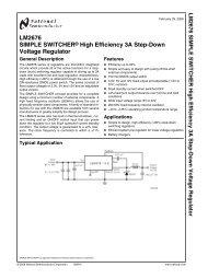 LM2676 Data Sheet - TeenyChron