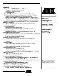 AT91SAM7A3-AU - Atmel Corporation