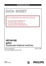 HEF4016B - NXP Semiconductors