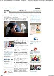 Tagesanzeiger_20.6.13_Interview NR Christian ... - Pro Mente Sana