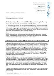 Gutachten SGPP (PDF, 90KB) - Pro Mente Sana