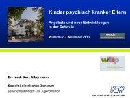 Handout, Referat Kurt Albermann (PDF, 4.4MB) - Pro Mente Sana