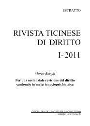 Rivista ticinese di diritto (PDF, 188KB) - Pro Mente Sana