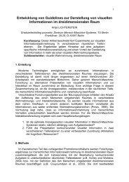 (2010). Entwicklung von Guidelines zur Darstellung von visuellen ...