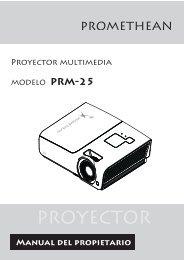 PROYECTOR - Promethean Planet