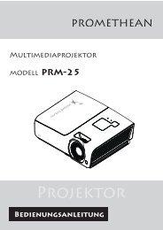 Projektor - Promethean Planet