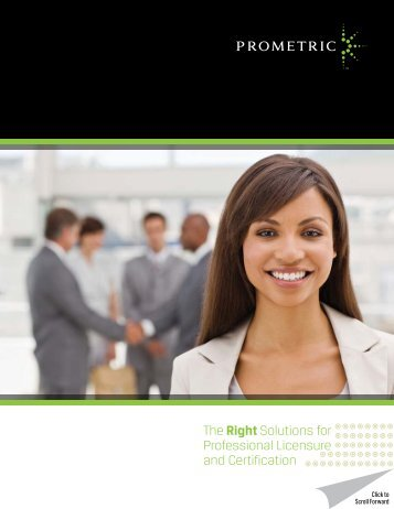 Professional Solutions Brochure - Prometric