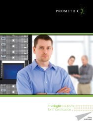 IT Certification Solutions Brochure - Prometric