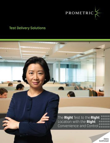 Solutions Overview e-brochure - Prometric