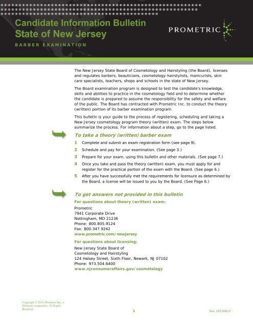 Prometric Exam Availability