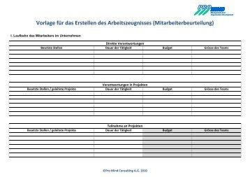 Mta dialog 2 2007 agentur f r arbeitszeugnisse - Vorlage fa r hirsch ...