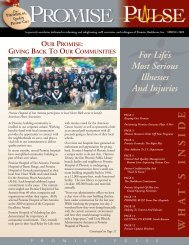 Promise Pulse - Promise Healthcare