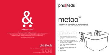METOO instructions cover 04-02-10 low res - ProMojeDite.cz