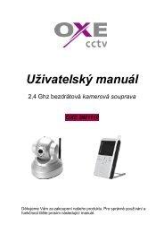 Uživatelský manuál, česky - ProMojeDite.cz