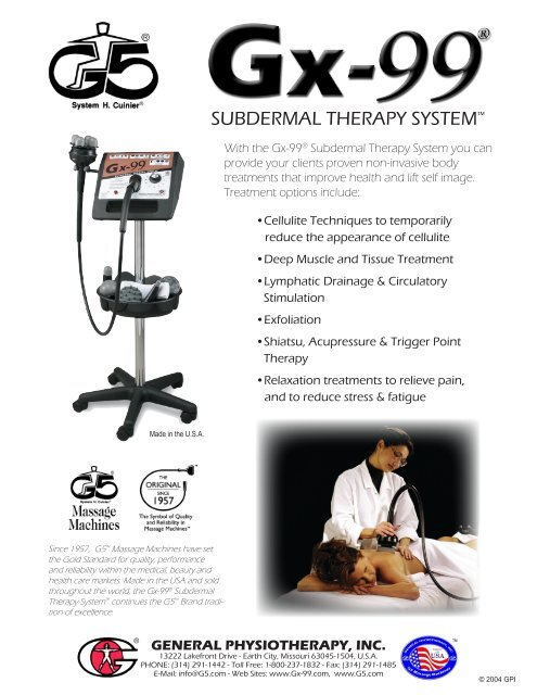 SUBDERMAL THERAPY SYSTEMTM