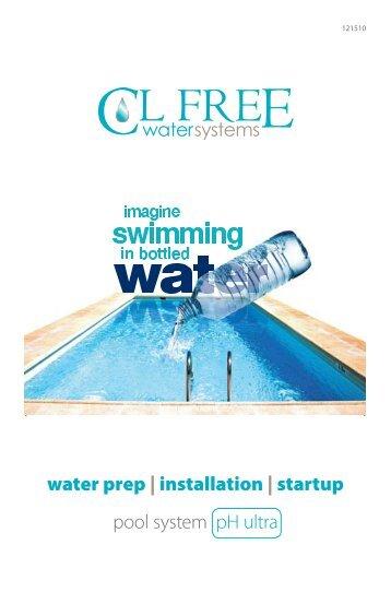 water prep | installation | startup pool system pH ultra - Promolife