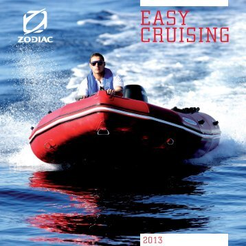 Catalogue Zodiac Easy Cruising