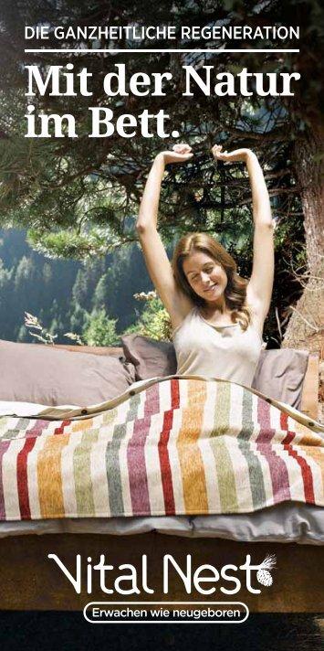 Mit der Natur im Bett. - Alpienne