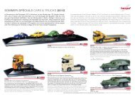 SOMMER-SPECIALS CARS & TRUCKS 2012 - Herpa