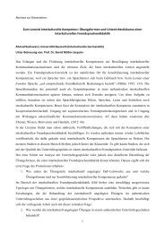 Projekt - Universität Bayreuth