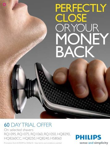 MONEY BACK - Philips Promotions
