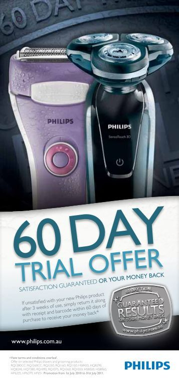 Trial offer - Philips Promotions